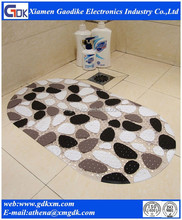 Anti-slip silicone shower mat