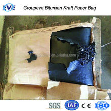 25kg None Stick Kraft Paper Bag for Packing Blown Bitumen