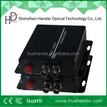 World Factory Hot-sale 2 ChannelVideo Digital optic Converter 20KM FC/ST connector CE FCC ROHS passed 3 years warranty