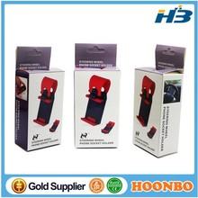 multi-functional mobile phone car wheel holder / mount / clip / buckle socket hands free for iphone GPS on car steering wheel