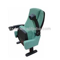 High Quality Comfortable Auditorium Chair Supplier /Wholesale Theater Seat with Fixed Steel Leg