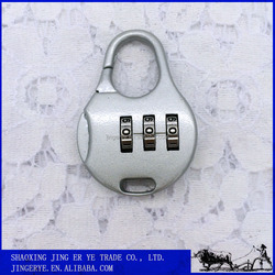 Hot Selling 3 Dial Metal Digital Combination Lock For Cabinet