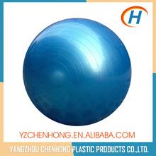 Bleu couleur Anti - éclatement PVC remise en forme personnalisée Balance Ball avec pompe