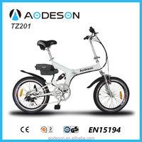 Top e-cycle China electric bicycle israel folding electric bike for sale e-bike TZ201