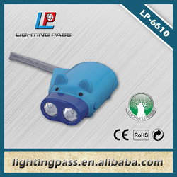 LED dynamo torch light with rechargeable flashlight