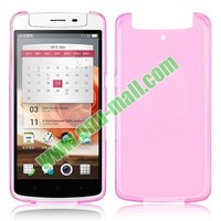 Beautiful Color Frosted Transparent TPU Case for OPPO N1