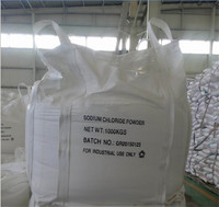 fine vacuum salt with unti-caking agent1000kg/bag for industry use only