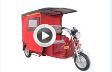 safe baidai three wheel electric tricycle product