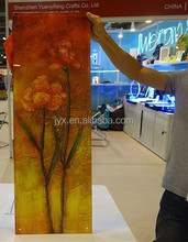 High quality modern UV printed plexiglass wall art, indoor acrylic wall art for home decoration