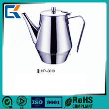 Mini 20oz durable stainless steel coffee kettle for airline