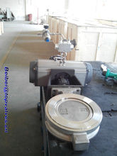 Pneumatic control cast iron check butterfly valve