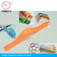 2015 wholesale OEM USB disk led watch silicone