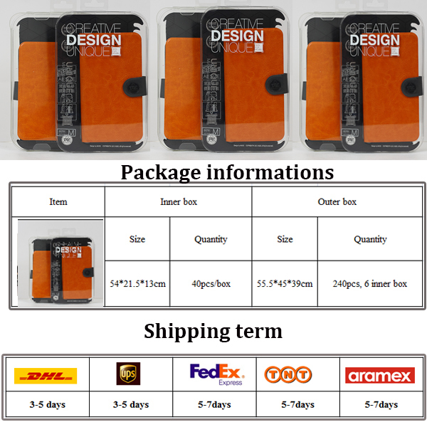 2014 new and high quality flip universal leather case