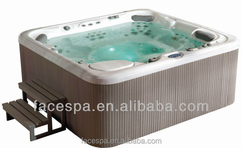 aromatherapy outdoor spa pool round hot tub whirlpool bathtub chromotherapy spa product view. Black Bedroom Furniture Sets. Home Design Ideas