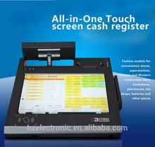 BLACK ELECTRONIC CASH REGISTER