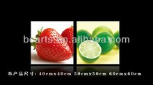 2012 pop famous art printing fruit pictures