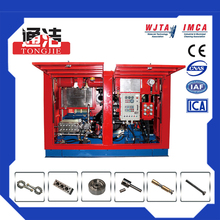 Brilliance high-tech product to clean roading&bridge 10000PSI fuel injector cleaning machine