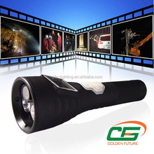 3 watt DVR flashlight with high pixel ,police led flashlight & torch