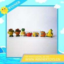 Manufacture collectible fruit action figure toy