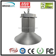 high lumen industrial led factory 200w led high bay lighting with COB leds