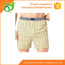 High quality OEM service model mens underwear boxers