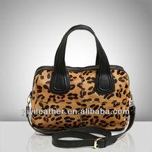 V439-fashion branded designer pony fur leather handbag 2015 hot sale ladies
