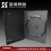 Plastic Black 14Mm Dvd Case