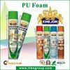 Polyurethan-Schaum-Spray/ fireproof expanding pu foam tube/gun type 750ml manufacturer ROHS certificate