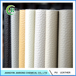 Nonwoven Backing PU Fabric Sofa Leather Material for Sale