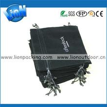 Small Jewelry Packing black velvet Bag