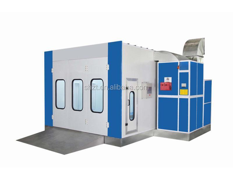 Chine fournisseur cabine de pulvérisation / pulvérisation automatique cuisson peinture Booth / voiture cabine de pulvérisation four