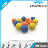 Cheap price hollow rubber high bounce ball in 57mm / 60mm