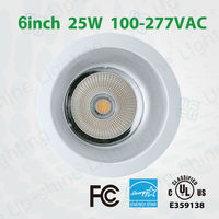 """UL/ES Listed 4"""" 6"""" 8"""" 10"""" for yout choice Elite Downlight Retrofit for commercial using"""