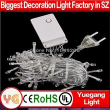 ce rosh compiant 10m 100leds permanent outdoor chasing IP44-65 110/220v voltage 9 color 2013 new christmas light