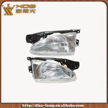 Automobiles & Motorcycles car body parts front head lamp HYUNDA ACCENT 95 96