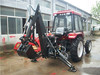 High quality hydraulic towable backhoe for tractor with CE