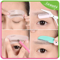 personal lady eyebrow trimmer ,H0T069, eyebrow knife with brow brush