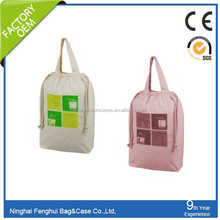 large capacity promotional plain white cotton cancas tote bag factory wholesale