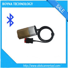 Newest TCS CDP 2014.R2 Gold DS150E new V-C-I Diagnostic tool with bluetoothc tool For Car and truck with plastic box package