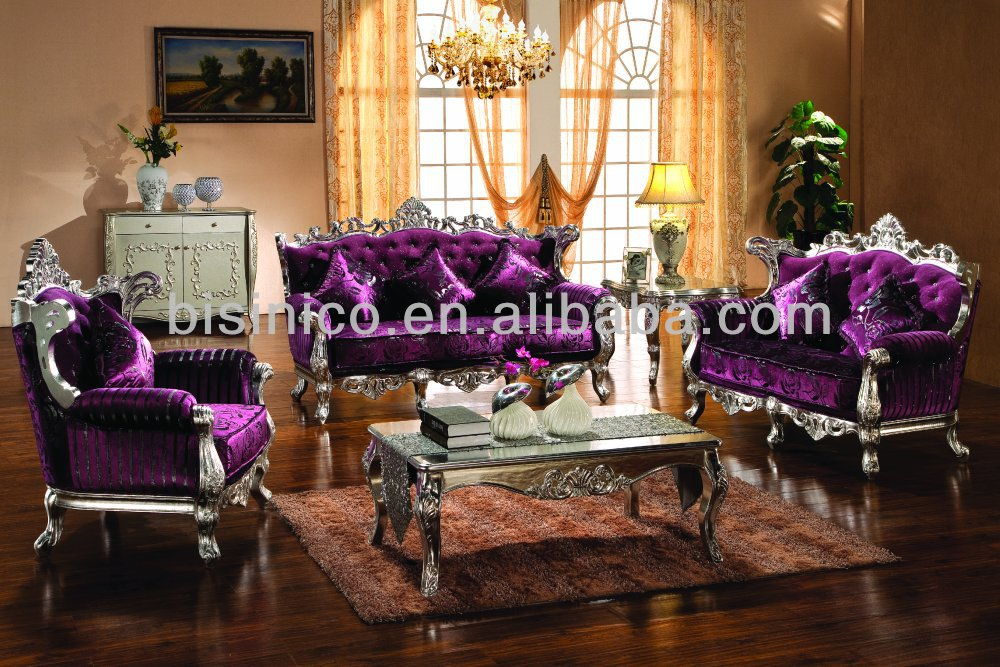 European Style Luxury Antique Living Room Furniture