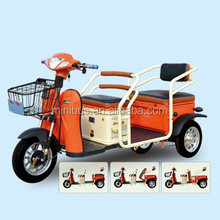 Electric Scooter Tricycle Car With 2 Passenger Seat For Adult Disabled Passenger Cargo China