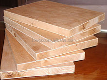 shandong linyi 4*8 block board melamine paper faced plywood