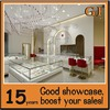 Solid wood jewelry shop showcase for shop furniture case