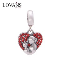Wholesale Floating Charms For Sterling Silver Locket S158B