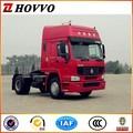 De China suppiler sinotruk howo tractor camión del precio bajo de la venta tractor cabeza de remolque camión 4 x 2 del carro del tractor
