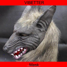 MK-220 Horror Full Head Wolf Mask for Masquerade Party Halloween Mask Cosplay Mask