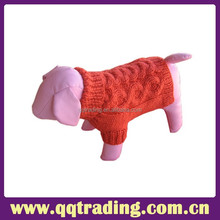 2015 Heated Hand Made Dog Sweater Pet Clothes Pattern