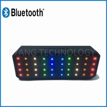 portable mini bluetooth door speaker with led light
