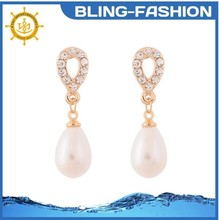 The newest design fashion cheap pearl earring