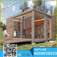 20ft / 40ft Flat Pack container house one bedroom prefab house